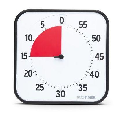 Großer Time Timer 30 x 30 cm, verbesserte Version