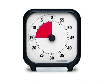 Time Timer Tischmodell 7,5 x 7,5 cm neue Version