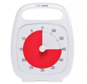 Time Timer Plus in weiss
