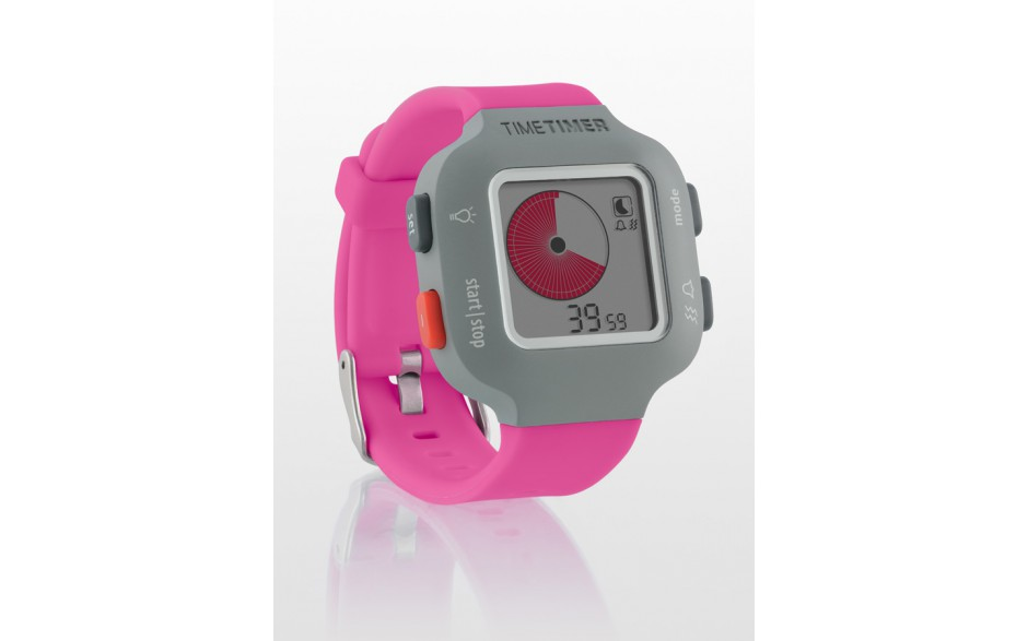Armband-Uhr Time Timer Watch Junior in himbeerrot