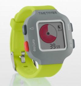Armband-Uhr Time Timer Watch Junior in lindgrün