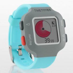 Armband-Uhr Time Timer Watch Junior in türkisblau