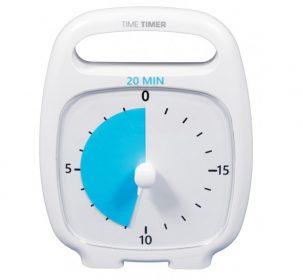 Time Timer Plus weiß 20 Minuten Schweiz