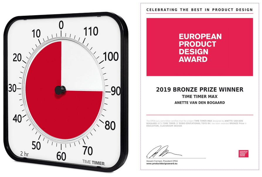 European Product Design Award für den Time Timer Max