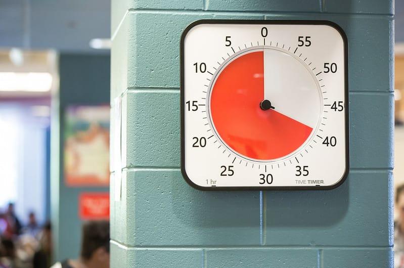 Max Time Timer für große Meeting und Hallen